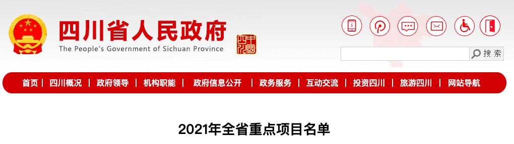 项目来了!2021年全省700个重点项目名单出炉~