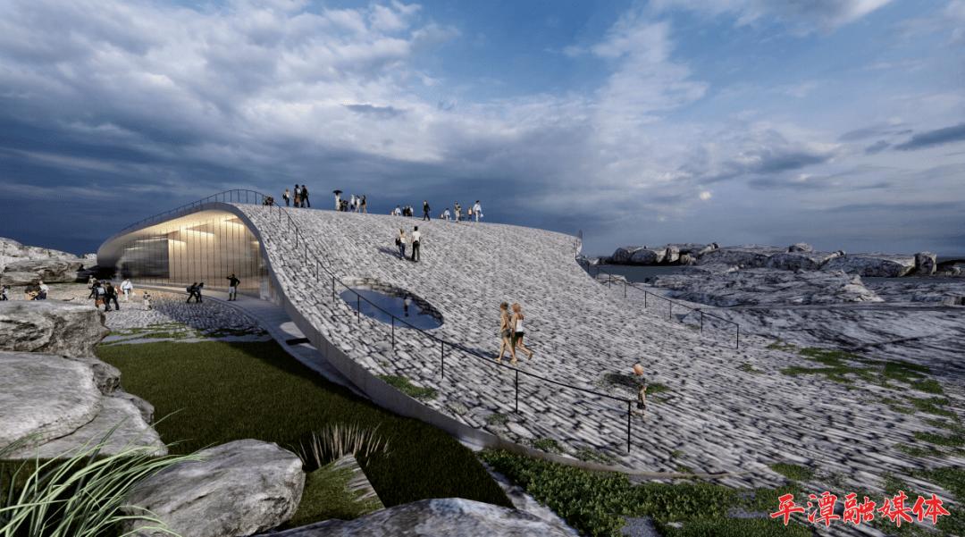 平潭将又添一个打卡地!风之翼艺术馆及地质博物馆开建!