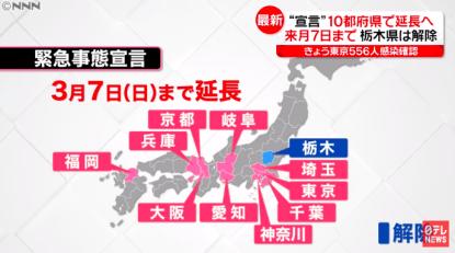 緊急 宣言 延長 事態 大阪