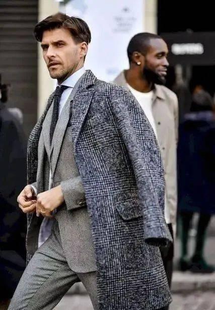 提升男人味必学的'粗糙绅士'穿搭指南 用西装搭出粗犷型男魅力 爸爸 第8张