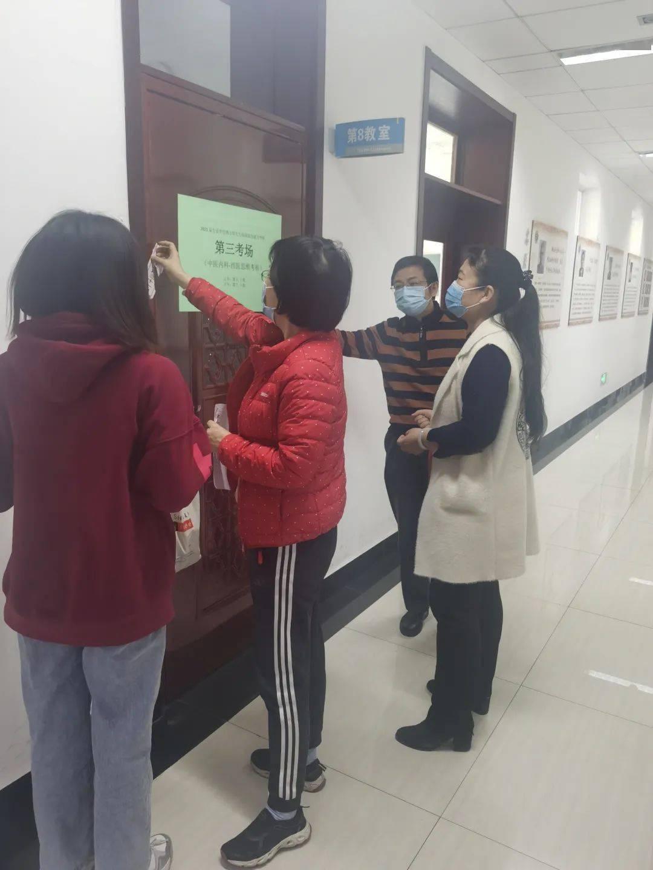 春节前,教学楼安全检查顺利进行