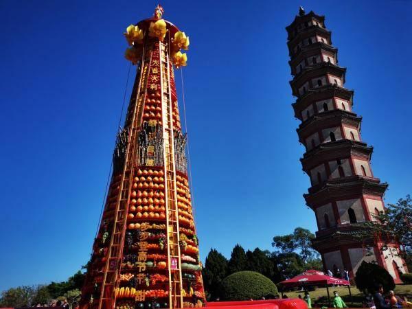莲花山旅游景区举行新年民俗文化主题活动--天津频道-