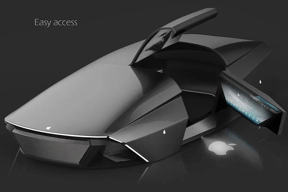 Apple 新创的概念车究竟长啥样