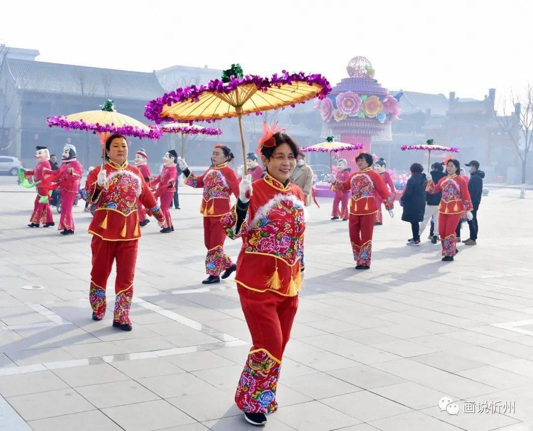 中国年在忻州:忻州古城真红火  第14张