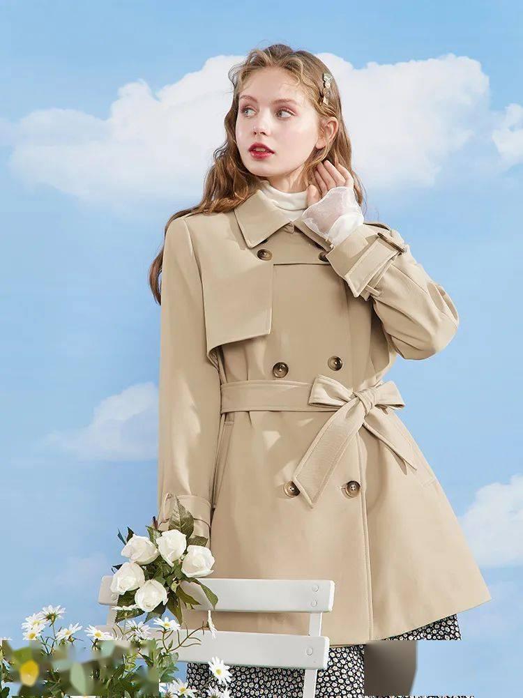 这件外套=开春最时髦单品!随便哪个内搭都高级好看!