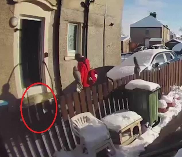 英国72岁老人摔倒躺在雪地里 邮递员拒绝帮忙扶起