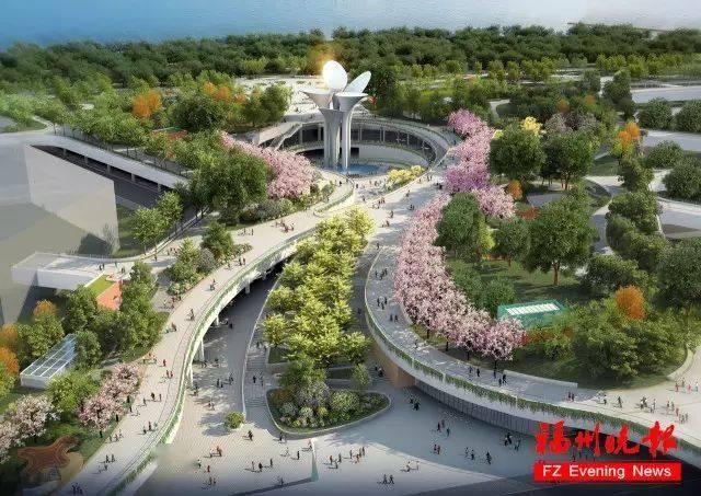 """总建面11万方!市中心""""城市绿谷""""明年底开放!共分为4层!地铁直达!  第8张"""