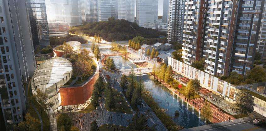 广州第二CBD新进展:六百年岭南古村旧改动工!未来变这样