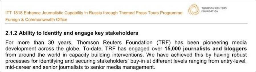 """外媒起底路透社、BBC与英国政府""""秘密交易"""",试图颠覆俄罗斯政权"""