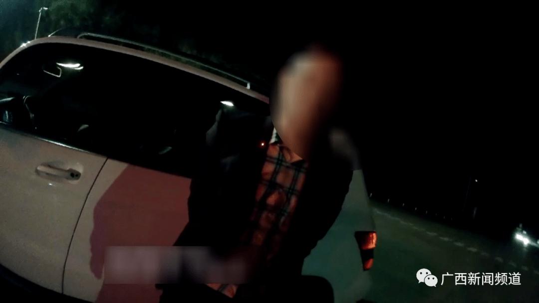 酒驾奔驰上高速还冲卡,南宁交警:罚1000元记12分