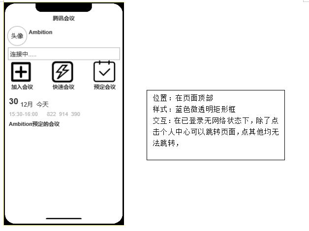 PRD:腾讯会议产品需求文档
