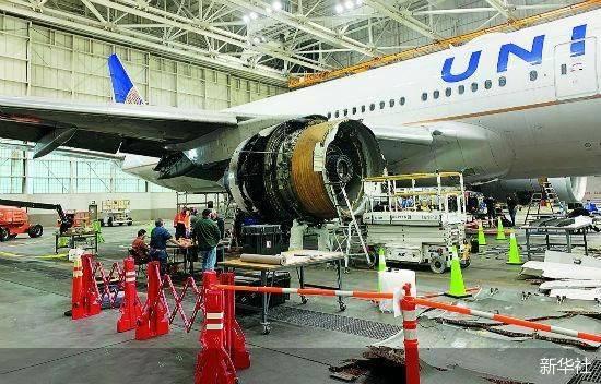 波音777飞机发动机故障或与金属疲劳有关