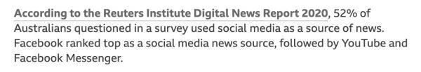 """脸书与澳大利亚到底在""""杠""""什么?这事恐怕还没完"""
