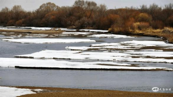 民勤春之韵---石羊河冰消雪融景色美