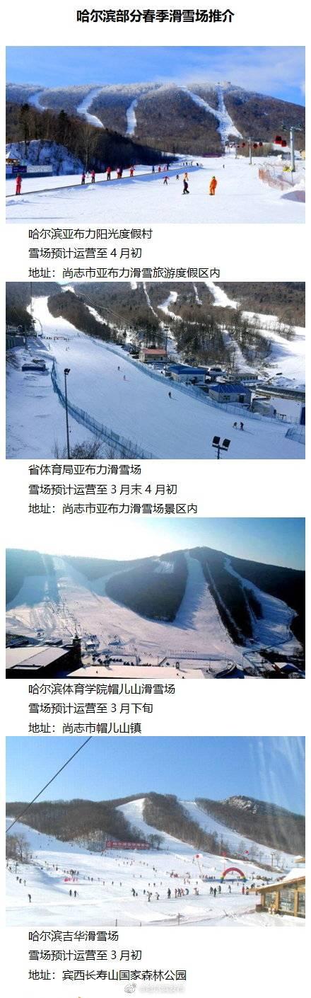 冰城春雪畅滑季持续至4月初
