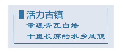 江南·百镇 | 泗泾:建设以人为本的宜居宜业城市家园