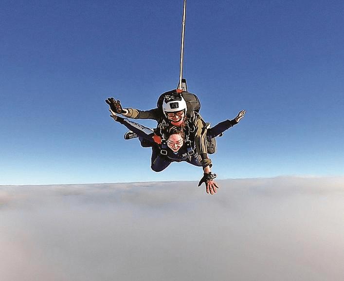 在沙县从4000米高空跳下来什么感觉?亲身体验者说……