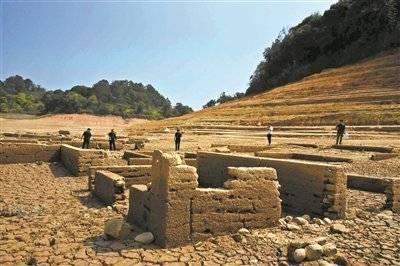 """河源万绿湖畔现古人类遗址:大批新石器时代晚期古文物""""浮""""出水面"""