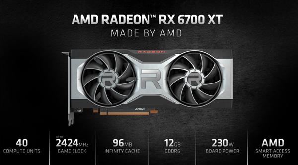 AMD RX 6700 XT正式发布:频率史无前例、竟可战3070的照片 - 4