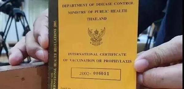 泰国公布疫苗护照样本,旅游协会呼吁7月1日起开放国门取消隔离