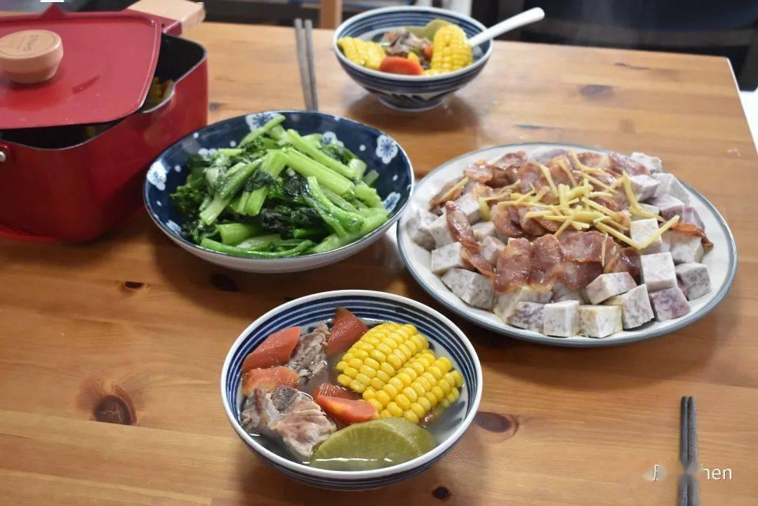我家6天晚餐,有荤有素还有汤,好吃有营养,简单的生活很美好