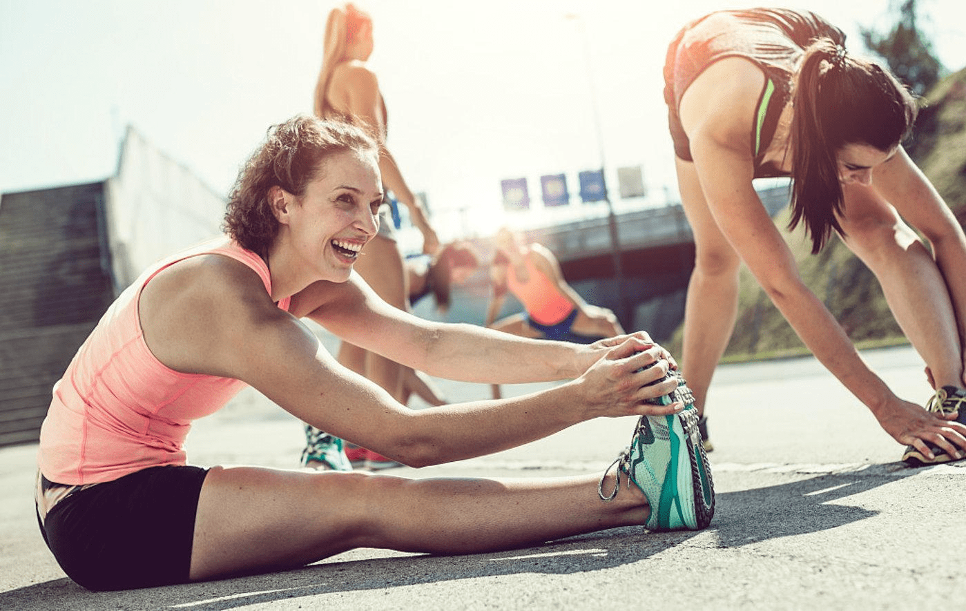 跑步这一项运动项目虽然比较简单,但是跑步之后的拉伸环节很重要_身体