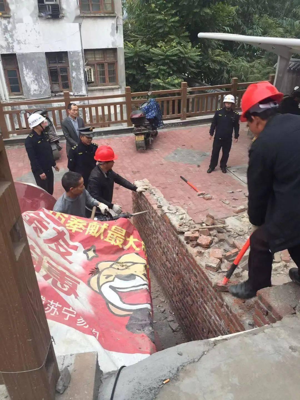 梅列区又一批违章建筑被强行拆除!