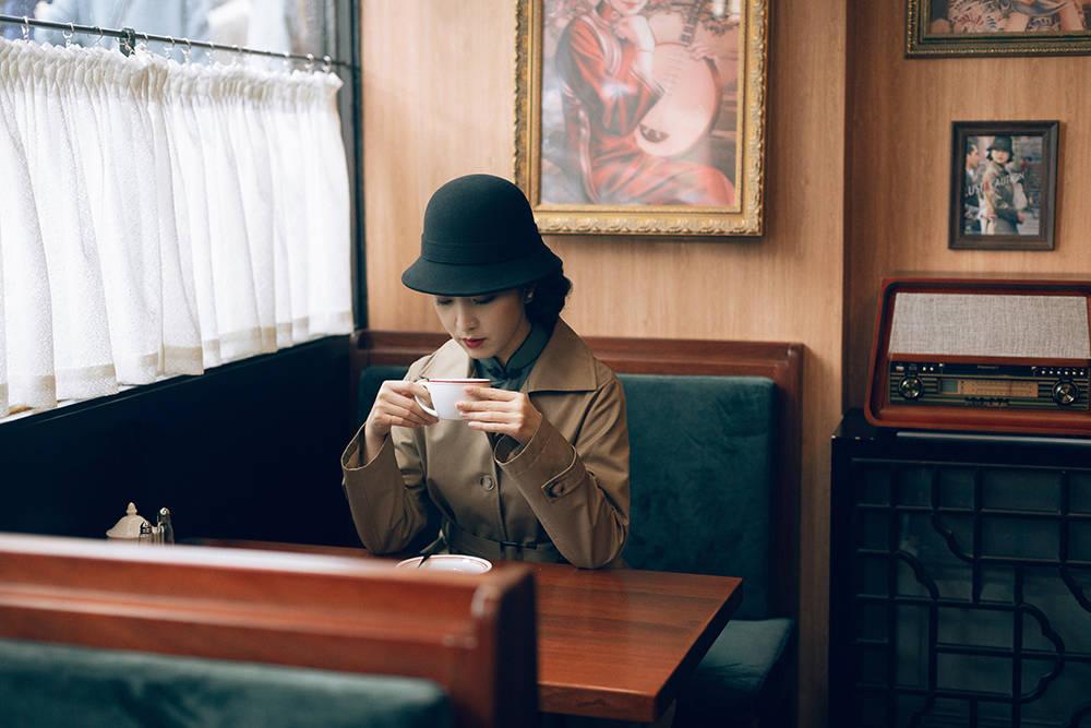 """递上的咖啡藏着暗号,这座古镇茶楼可打卡""""地下党""""接头场景"""