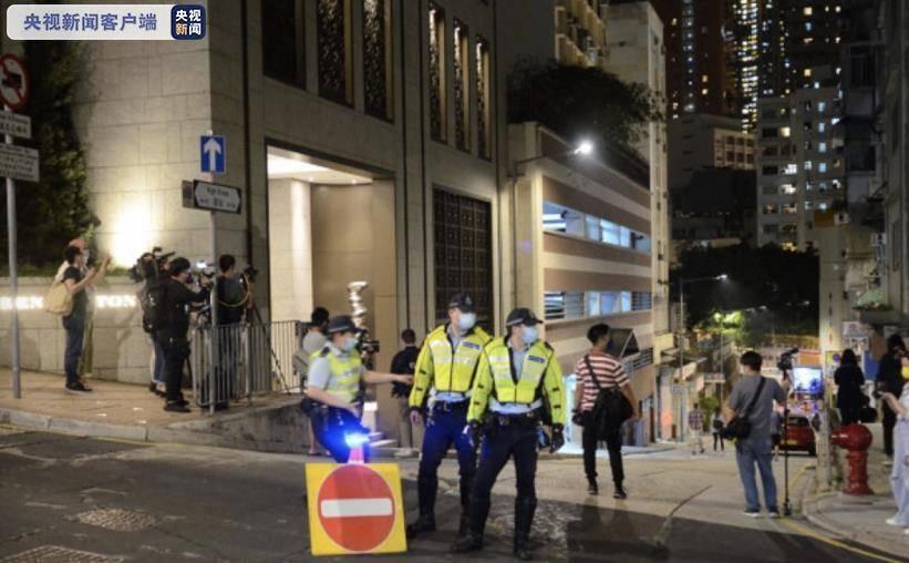 """中国香港进行中西区多处""""封区""""行动,发觉2例基本诊断病案"""