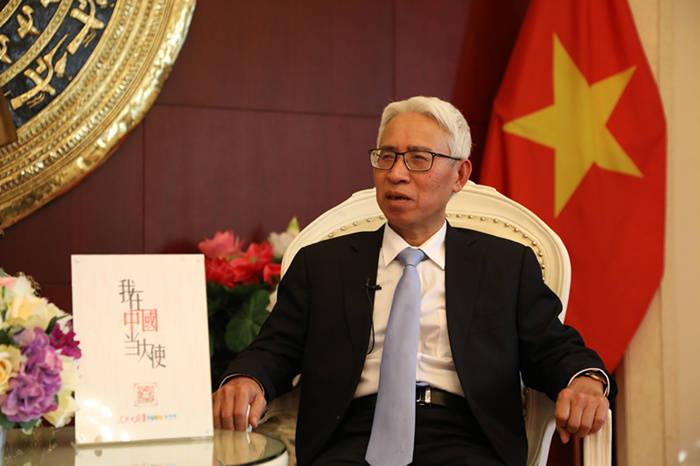越南駐華大使:祝賀中國共產黨百年誕辰