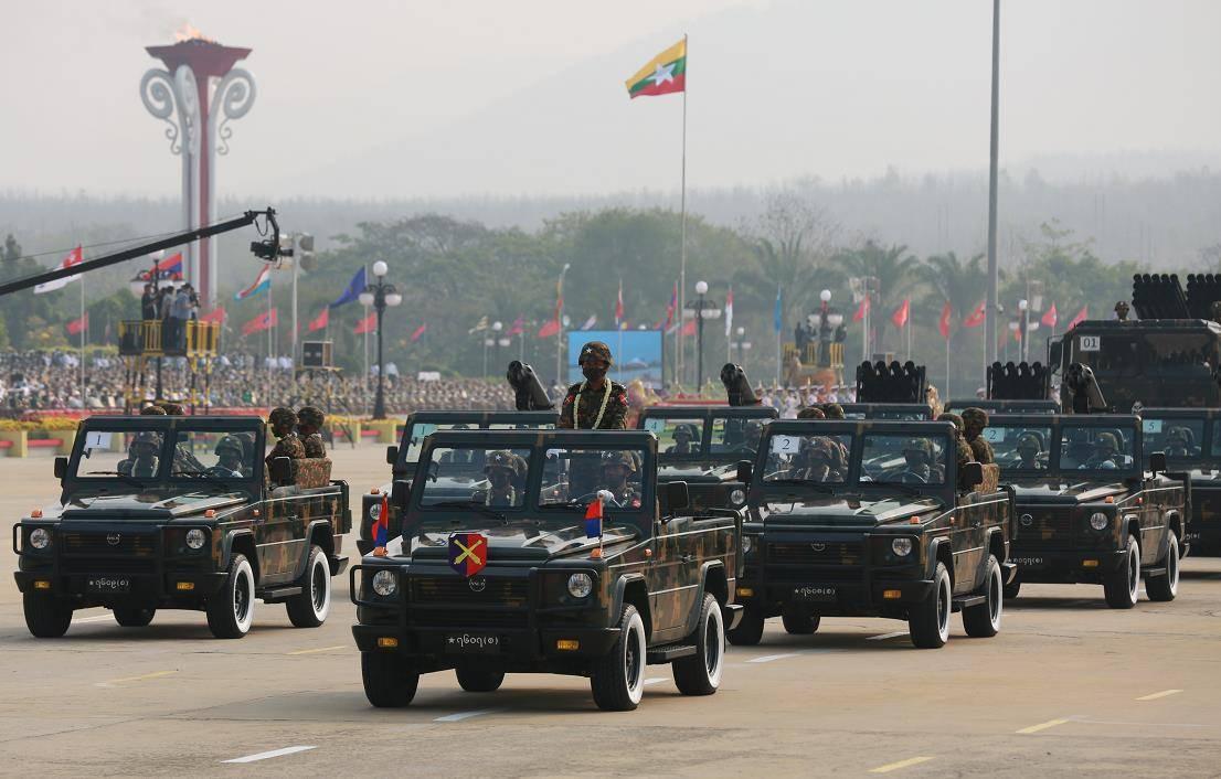越南举办八一建军节国庆阅兵庆典活动典礼
