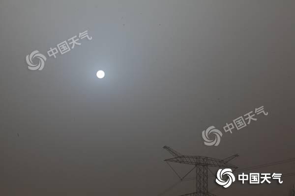 风沙南进至黄河一线 长江中下游地区雨量提高局部地区大暴雨