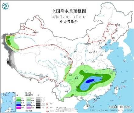 暴雨来袭!云南东南部今夜至明天降水最强