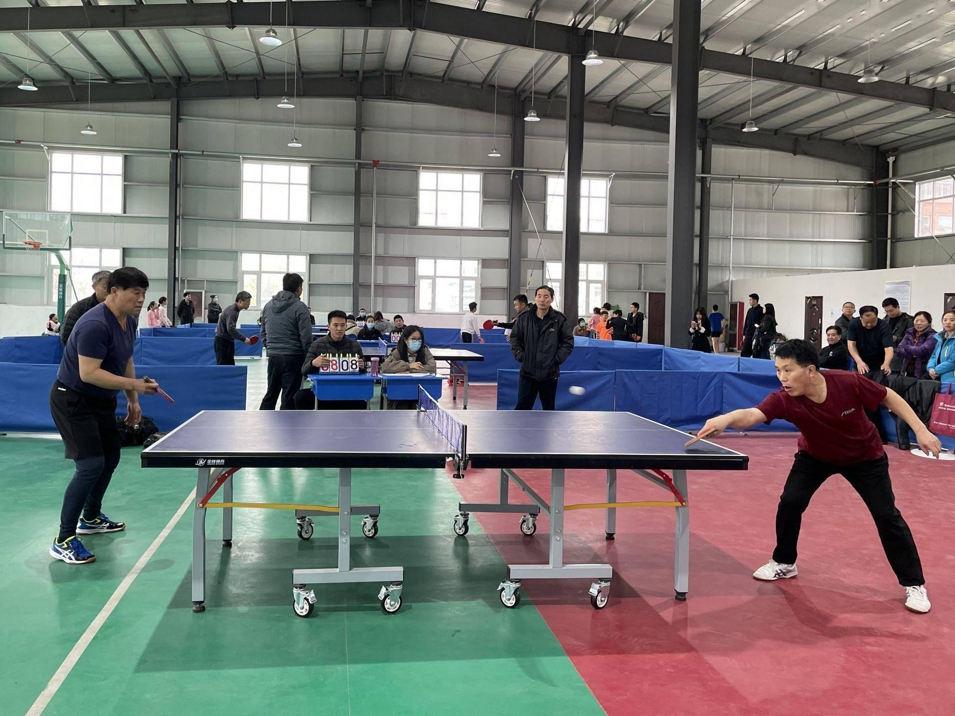 """""""乒""""尽全力!鱼台县第十一届全民健身运动会乒乓球比赛火热开战"""