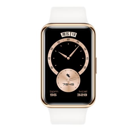 到手价949元!华为Watch Fit雅致款开售:升级镜面金属表壳