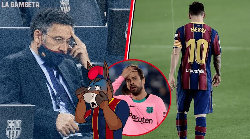 巴萨的状况比预想中还要糟,一赛季亏损3.5亿欧,俱乐部会破产吗?......