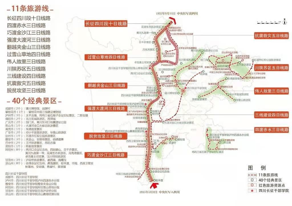 """四川省""""重走长征路·奋进新征程"""" 红色旅游年启动 黄强宣布活动启动"""