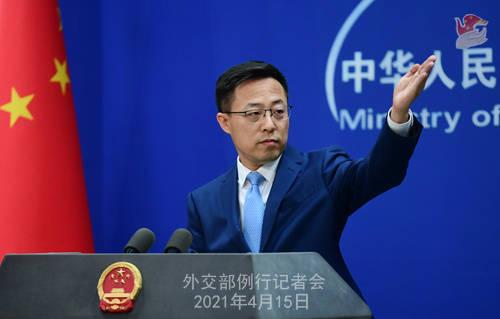 中国外交部:日本决策把核污水排进深海 极为以自我为中心