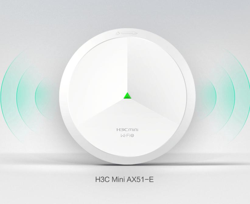 新华三 Wi-Fi 6 1800M 吸顶 AP 发布:BBS 抗干扰技术,799 元