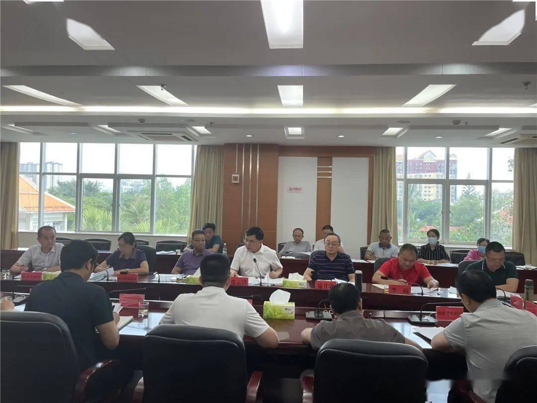 州生态环境保护委员会召开第一次专题会议