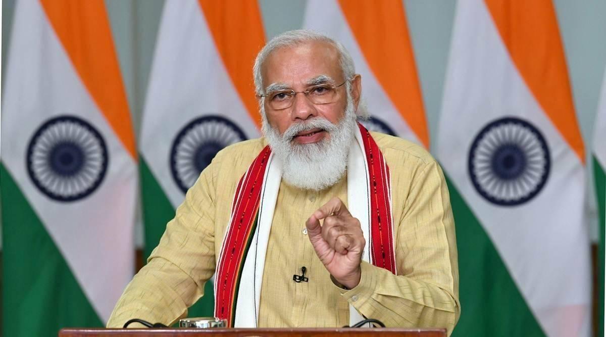盛图注册印度总理莫迪:第二波疫情犹如暴风雨般让整个国家动摇