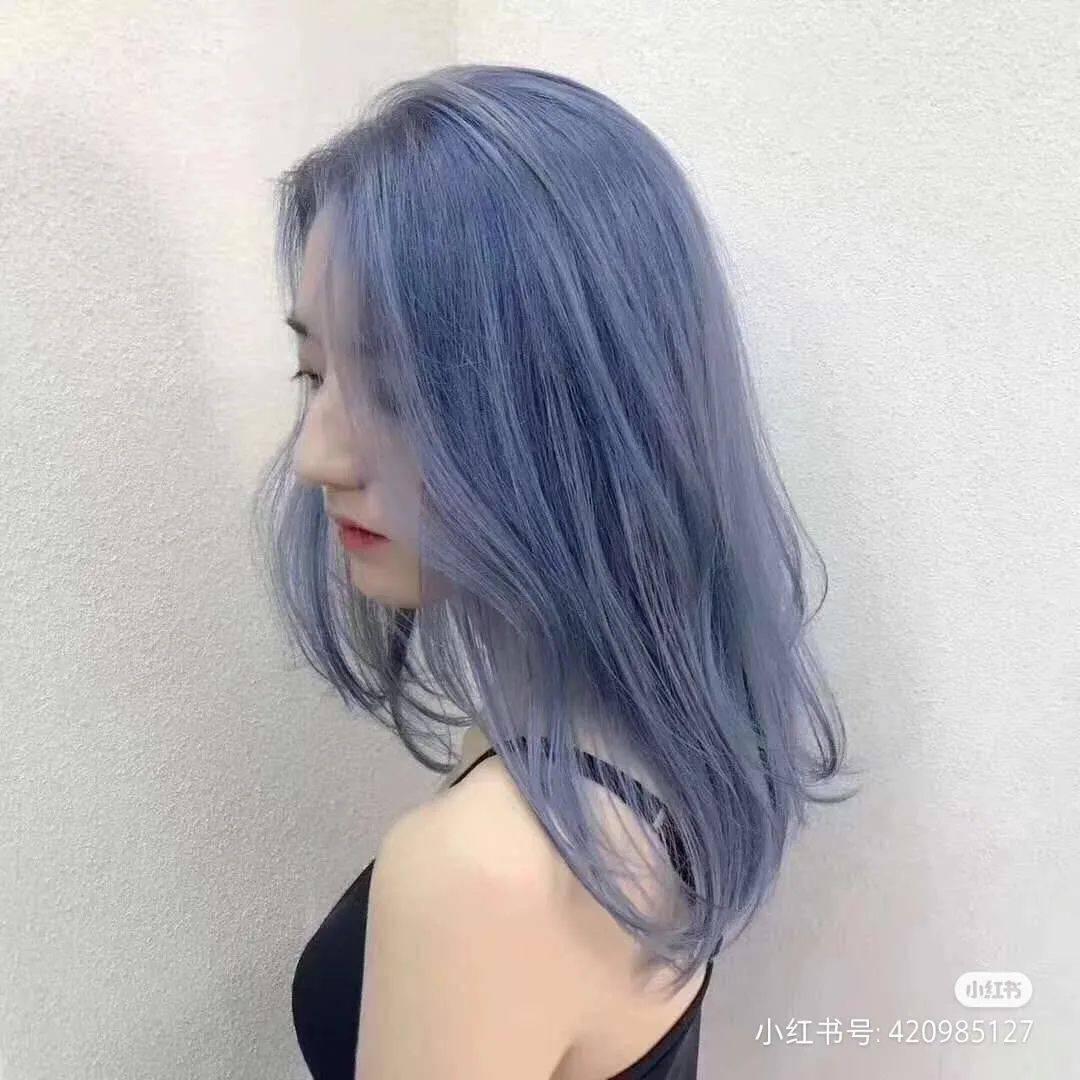 不染后悔的6款神仙发色,好看还显白!