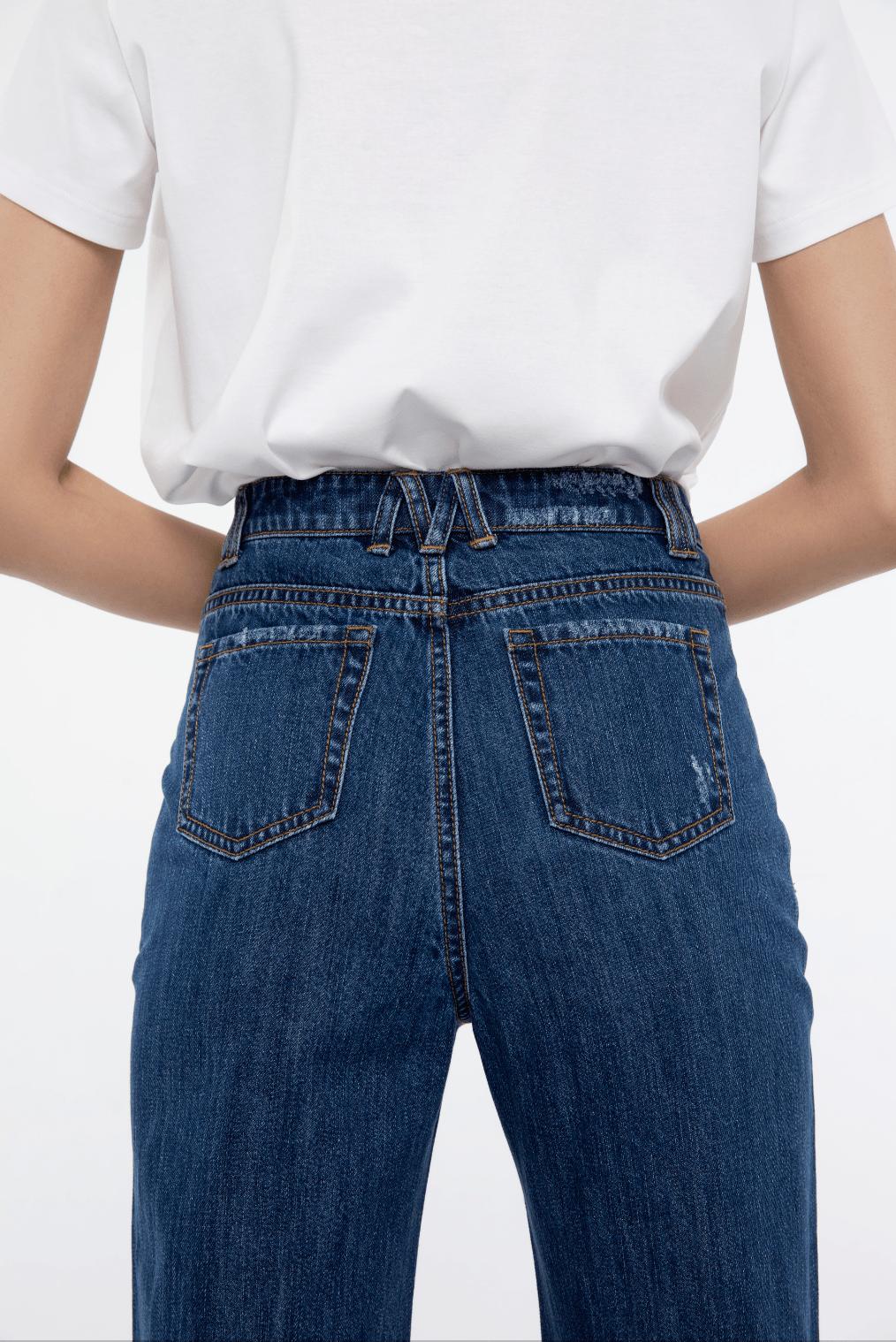 The Mo Lab | 不费力的法式风 真的全靠这条牛仔裤