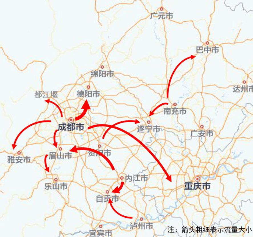 五一假期四川高速公路10大易堵路段绕行建议来了