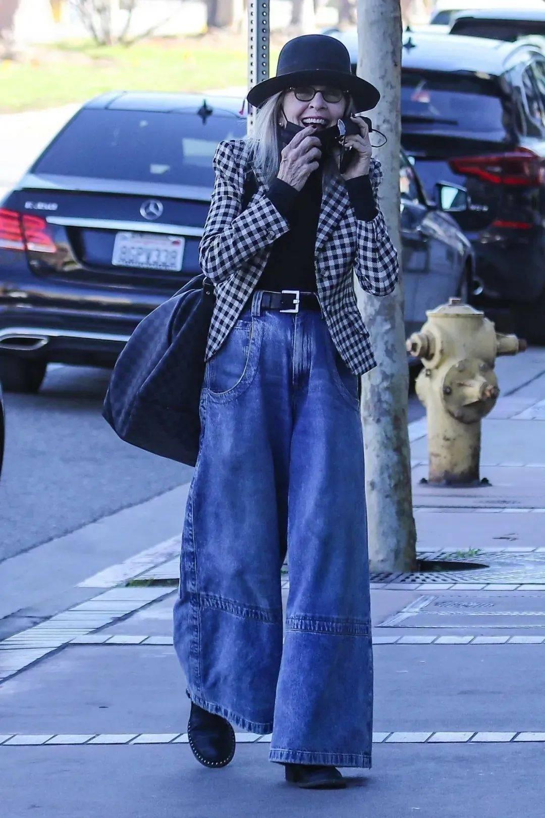 衣品||75岁还是最酷的女神 如何穿成戴安·基顿? 爸爸 第64张
