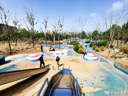 海淀又添一个免费大公园!足球场、篮球场、儿童乐园......