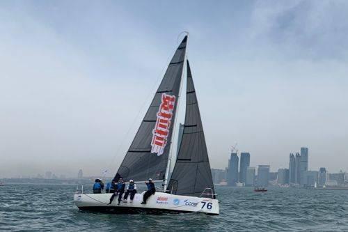 城市俱乐部国际帆船赛开幕 货拉拉提供运动装备以及应急保障等工作