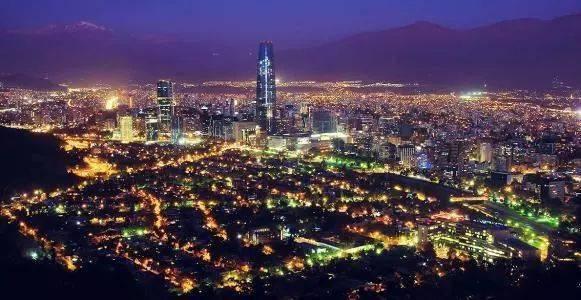 发达国家gdp_地图看世界:南美洲唯一的发达国家智利