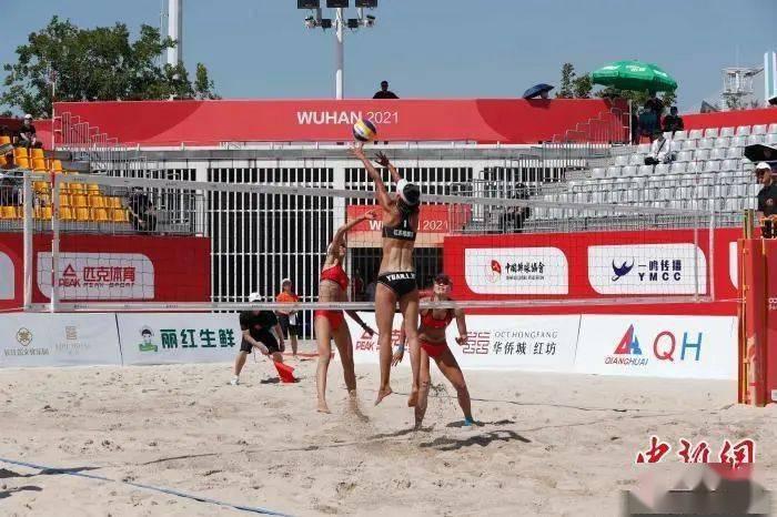 2021年全国沙排巡回赛武汉落幕 男女组冠军均来自山东_比赛