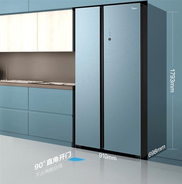 搭载HarmonyOS!美的首款鸿蒙冰箱开售:6999元                                   图2